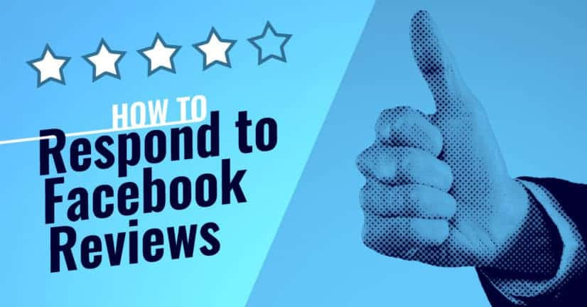 how to respond to facebook reviews
