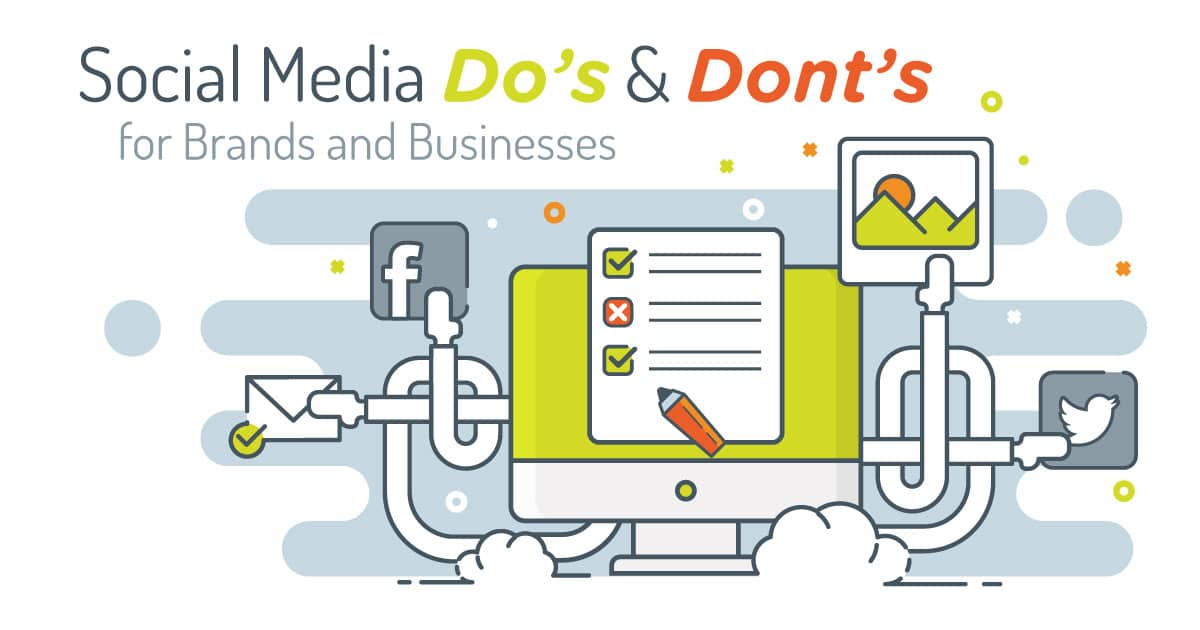 social media do's and don'ts for brands