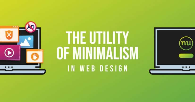 minimalism in web design